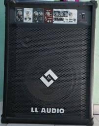 Título do anúncio: Caixa Amplificada Multiuso 15 Pol 150w RMS LL500FM LL Áudio