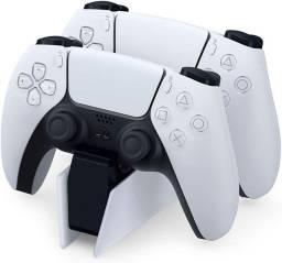 Título do anúncio: Carregador duplo oficial Sony PS5 para Dualsense