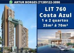 Título do anúncio: LIT 760, 1 quartos entre 25m² e 35m² com 1 vaga na garagem no Costa Azul one