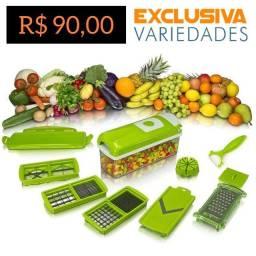 Título do anúncio: Ralador Cortador de Legumes Multifuncional Nicer Dicer Plus