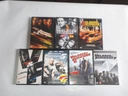 Título do anúncio: Coleção De Filmes Em Dvd Velozes &furiosos  Do 1 Ao 7