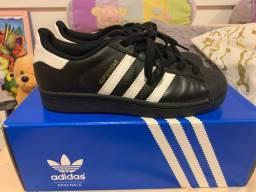 Tênis adidas superstar ORIGINAL 34/35/36