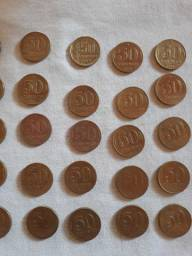 Título do anúncio: 69 moedas antigas de vários anos