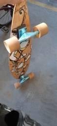 Longboard skate semi novo