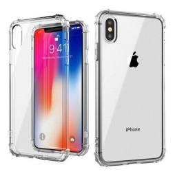 Capa Capinha Case Anti Shock Transparente Para todos os modelos de Iphone