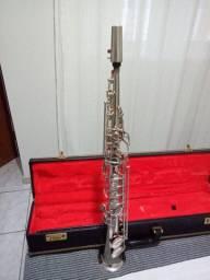 Vendo sax soprano Rex weril ótimo Estado e conservação!!