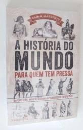 Promoção! Kit 3 livros - A historia da Mitologia, A História do Mundo e a do Brasil
