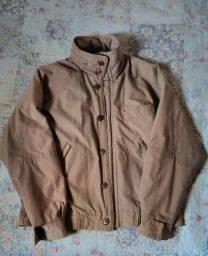 casaco marrom vintage c.g.c