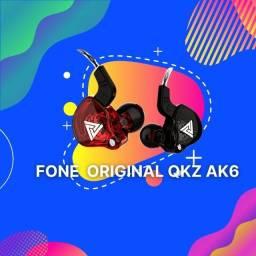 Título do anúncio: Fone de ouvido Retorno de Palco Qkz Ak6 in ear Original  C/microfone