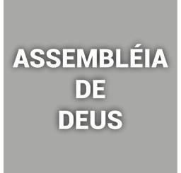 Letras Assembléia De Deus Em Isopor Letra Caixa 3d 20cm Alt