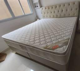 Título do anúncio:  cama super king molas ensacadas luxuosa### 1