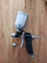 Título do anúncio: Pistola De Pintura Mod 5  C/ Caneca Alumínio De Arprex Usada