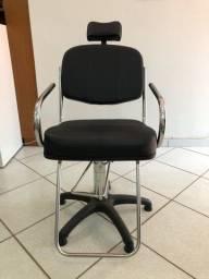 Título do anúncio: Cadeira de cabeleireira