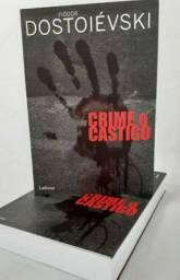 LIVRO CRIME E CASTIGO   NOVO