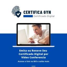 Título do anúncio: Certificado Digital CertiFica Gyn