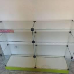 Título do anúncio: Bancada de vidro pra loja