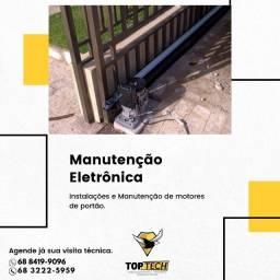 Título do anúncio: Manutenção e instalação de motor de portão.