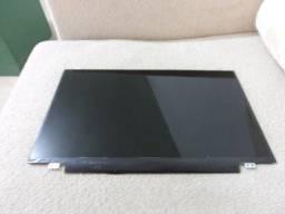 tela de led slim 14.0 de 30 pinos para qualquer notebook R$400 ja instalada