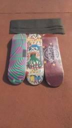 Título do anúncio: Shapes Skate com Lixa Gringa