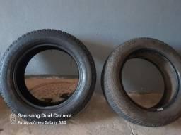 Vendo 4 pneus dois sobre novo,e dois mas que meia vida!