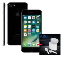 Iphone 7 32gb Black  Vitrine + Fone Brinde