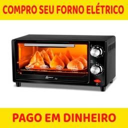 Título do anúncio: compramos forno eletrico usado