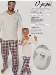 Pijama Masculino e infantil da DeMillus