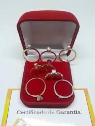 Vendo correntes pulseira em OURO 18k