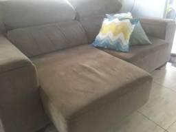 Sofá 2 lugares, retrátil e reclinável