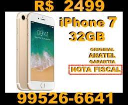 IPhone 7 32GB com Nota_fiscal dourado novo lacrado
