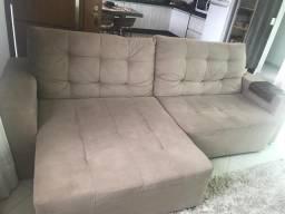 Sofa Sued Retratil
