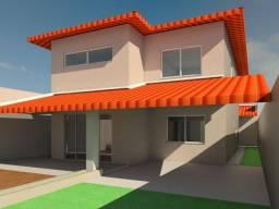 Casa em Construção em Alagoinhas 3 suítes gabinete sala TV 2 vagas 350 mil