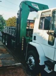 Caminhao Ford Cargo 1617 Cummins com Munck Rodomak 25000- Leiam - 1995