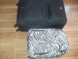 2 malas ,usadas apenas 2 vezes