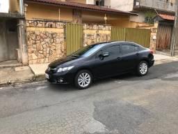 Honda Civic LXR 2014 Preto Somente Venda - 2014