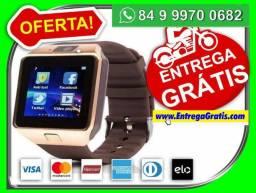 53d53dde6b1 Relógio SmartWatch Bluetooth Android ios 3G Maravilha entrego gratis