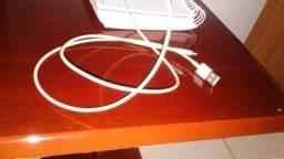 Cabo de carregador de Iphone funcionando