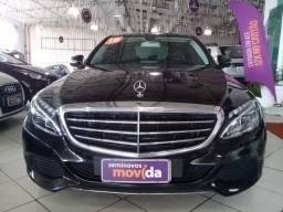 Mercedes C-180 Exclusive-Pague 50% no cartão de credito em 12x sem juros - 2018