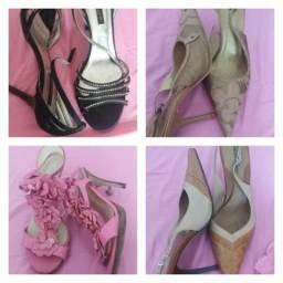 Vendo 4 Calçados n° 38 e 39