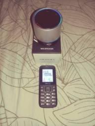 Caixinh bluetooth e celular simples aceito proposta