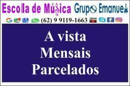 Escola de música em grupo ou individual