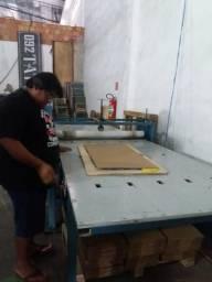 Maquina de Corte e Vinco 1,20x2mt