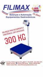 Balança 300 Kg Industrial e Inox