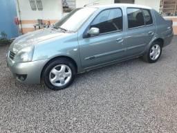 Clio 1.6 sedan completo (muito barato) - 2008