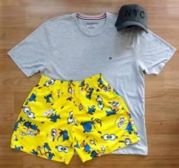 Short camiseta boné apartir de $150