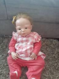 Bebê reborn de silicone