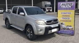 Toyota Hilux Sr 2.7 Flex manual 4x2 cabine dupla ano 2010