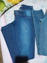 Calcas jeans semi novas