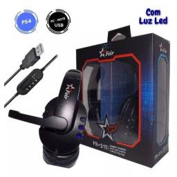 Título do anúncio: Fone Headset Gamer Play4 Play3 Pc Feir Fr-215 - Imperium Informatica