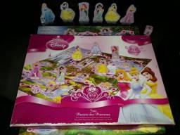 Jogo de tabuleiro Passeio das princesas - Disney - Grow
